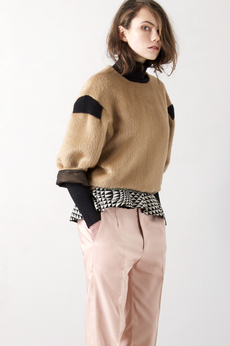 Pullover aus Alpacca