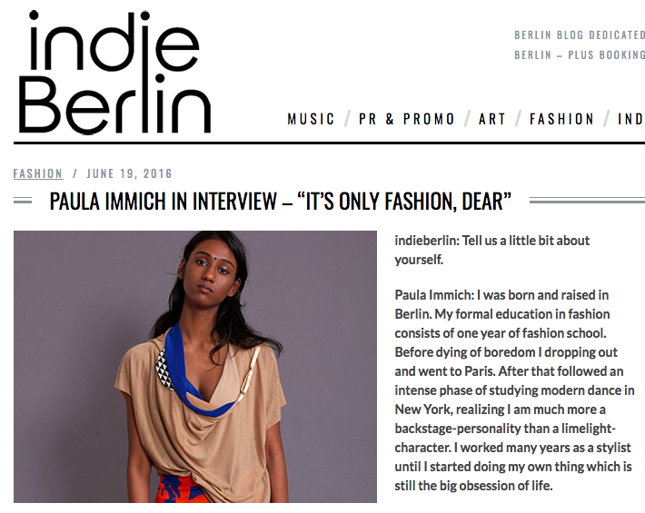 indieberlin paula immich