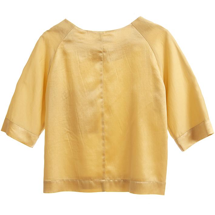 gelbes-top-aus-baumwolle-und-seide-rueckansicht-design-paula-immich