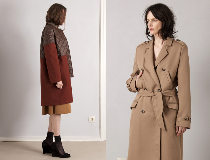 paula-immich-big-red-bomber-mantel-neoprene-skirt-trench-what-are-you-getting-dressed-for