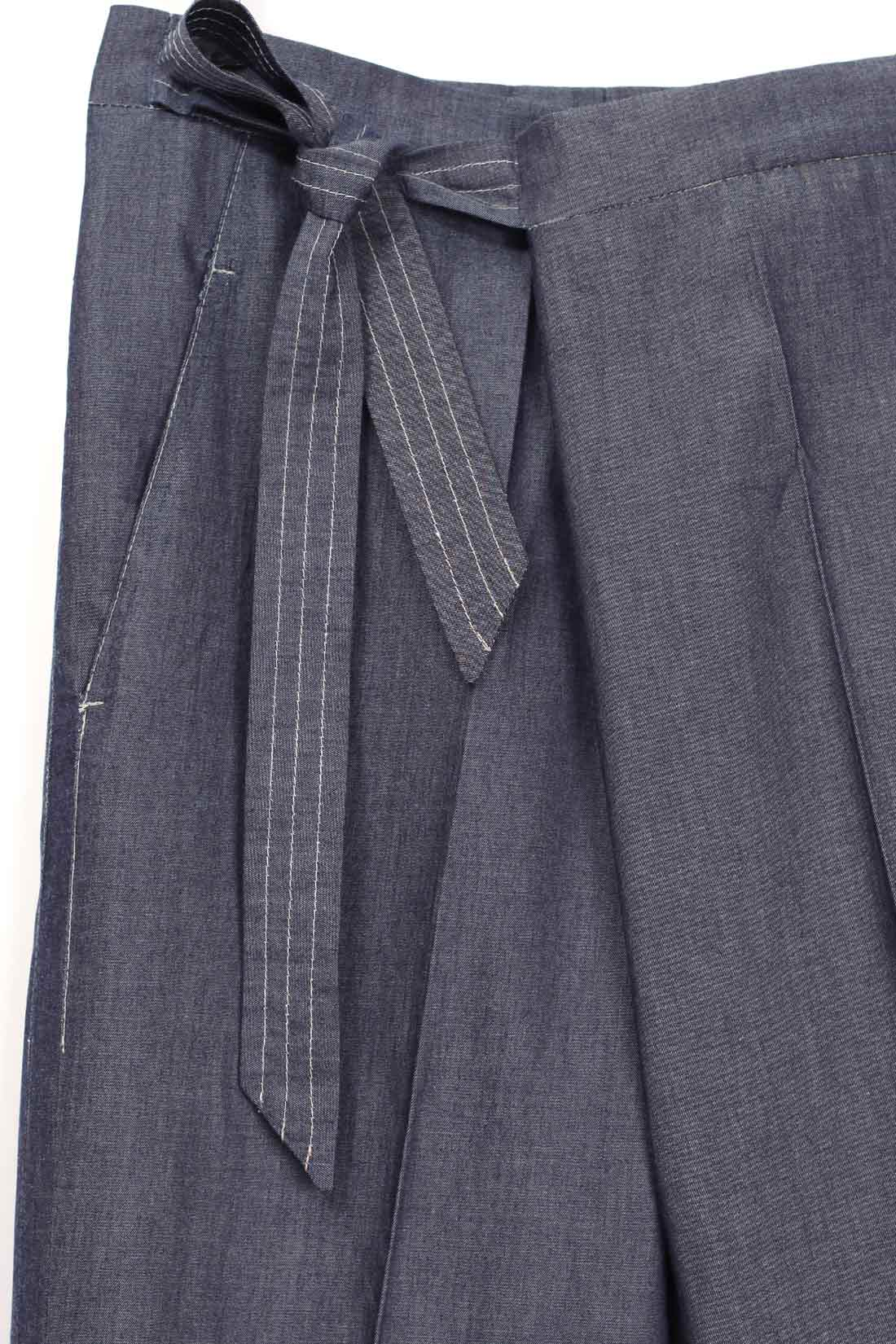 paula immich wickelhose aus leichtem Jeansstoff