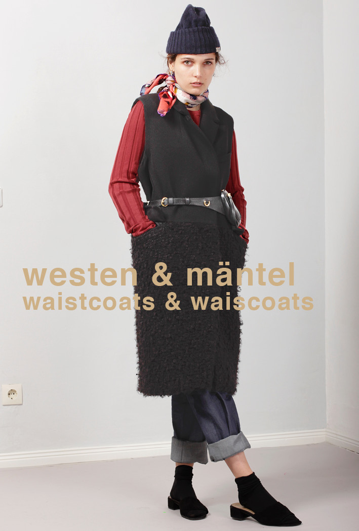 Mäntel & Westen / Coats & Waistcoats